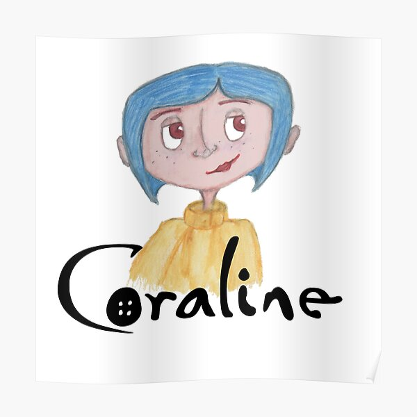 Coraline Movie Posters Redbubble