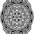 """Chachapoyas"" Sacred Geometry Mandala by Zak Korvin"