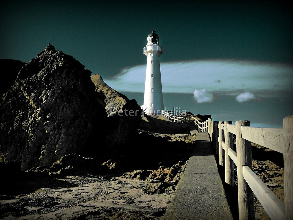 A Path to the Lighthouse by Peter Kurdulija