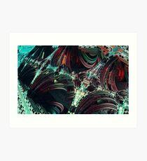 enterprise pattern fractal Art Print