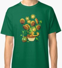 Sunflowers vs zombies Classic T-Shirt