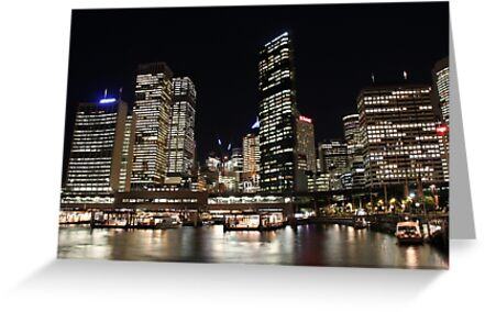 Sydney Night by Ongoingline