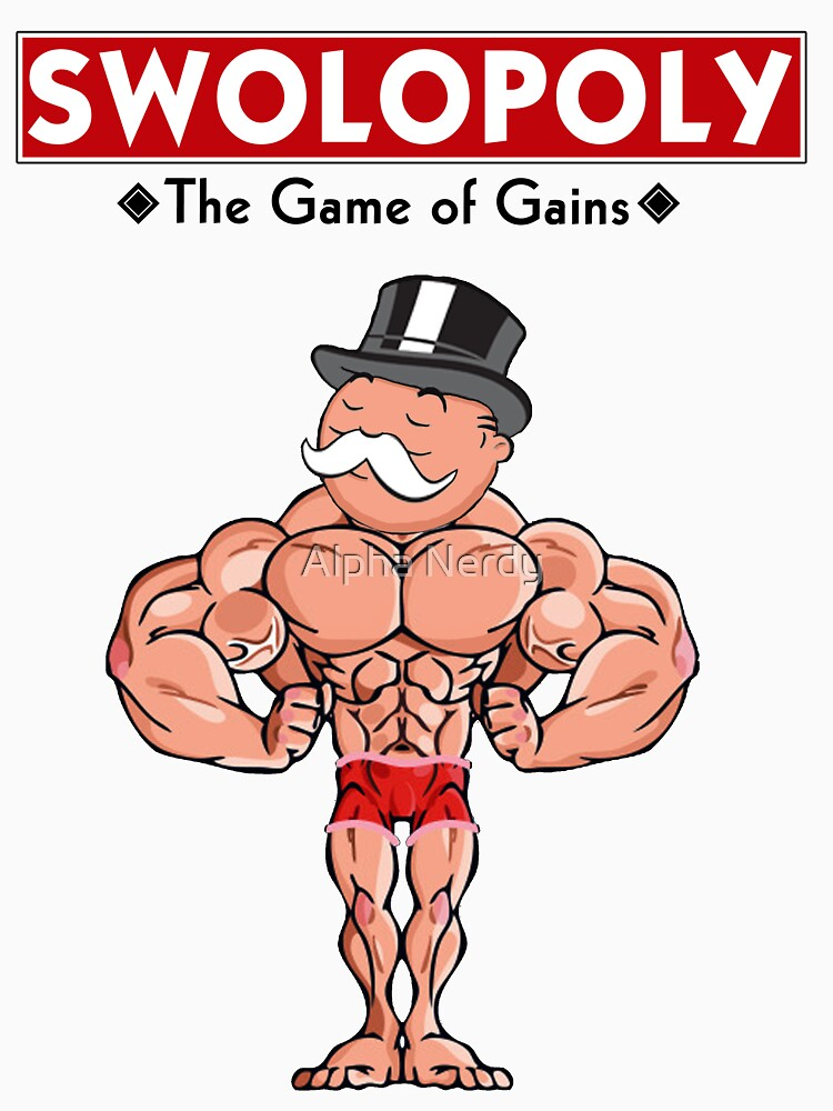 Swolopoly: The Game of Gains by kaytee137