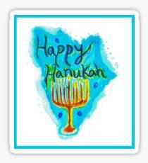 Happy Hanukah Sticker