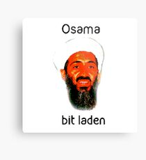 Osama Bit Laden Metal Print