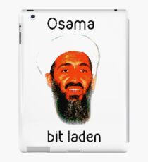 Osama Bit Laden iPad Case/Skin