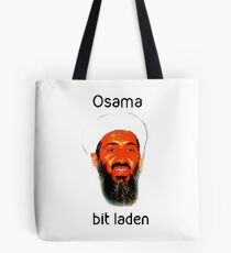 Osama Bit Laden Tote Bag