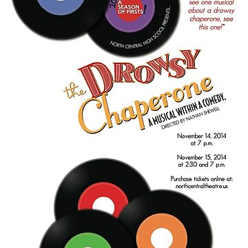 North Central Theatre presents The Drowsy Chaperone artwork by nctheatre