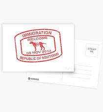 Republic of Newtown - 2014: Red Postcards