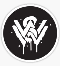 WANDERERS (PAINT LOGO) Sticker