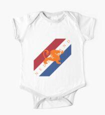 Netherlands - Celebrative 2014 World Cup T-shirt One Piece - Short Sleeve