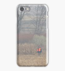 Foggy Morning Bird Hunt iPhone Case/Skin