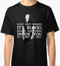 BLOOD; SPIKE (WITH TEXT) Classic T-Shirt