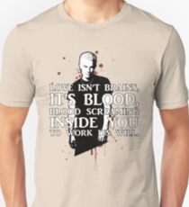 BLOOD; SPIKE (WITH TEXT) Unisex T-Shirt
