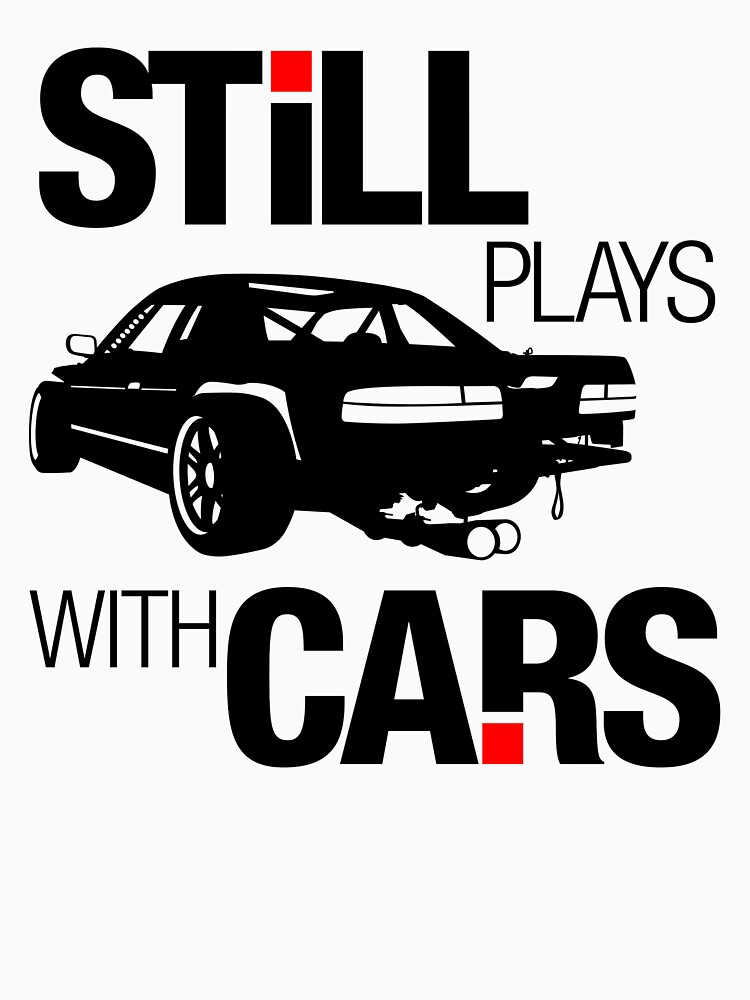 TShirtGifter presents: Still plays with cars (1) | Unisex T-Shirt