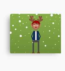 Jimmy the Reindeer Canvas Print