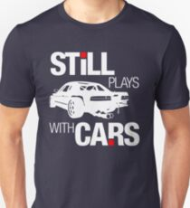 Still plays with cars (2) Unisex T-Shirt