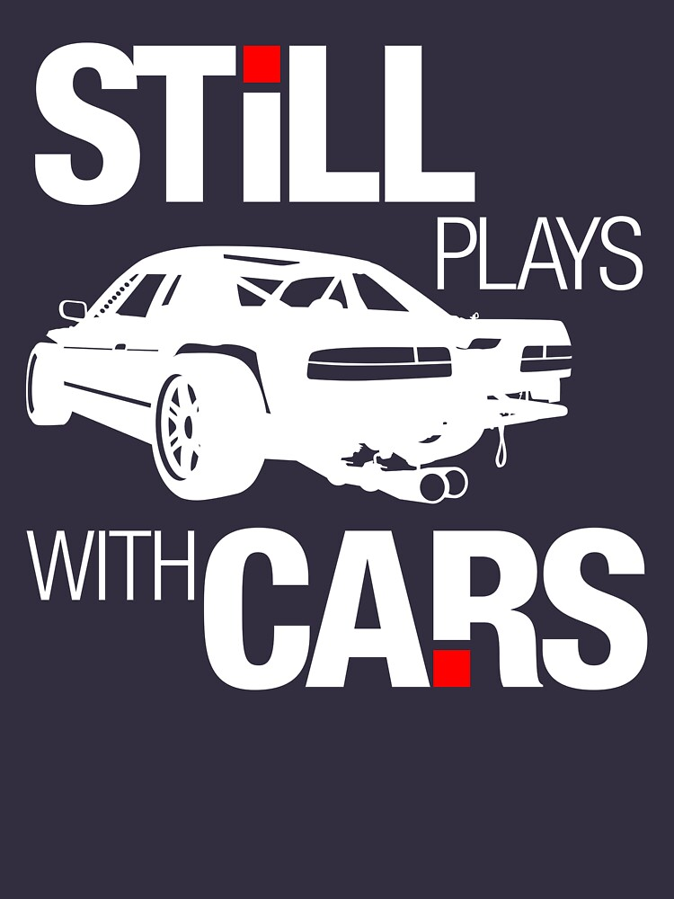 Still plays with cars (2) | Unisex T-Shirt