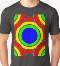 Pattern A 2 - Centered Unisex T-Shirt