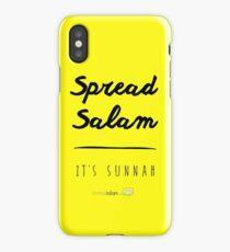 Spread Salam, it's sunnah. iPhone Case/Skin