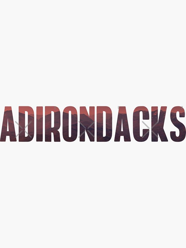 Adiorandaks Sticker by theroyalsass