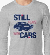 Still plays with cars (6) Long Sleeve T-Shirt