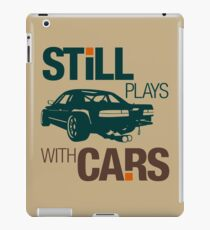 Still plays with cars (7) iPad Case/Skin