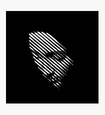 Face Lines Photographic Print
