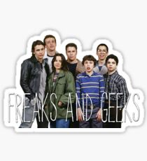with the freaks and geeks  Sticker