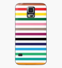 London Underground Tube Lines Case/Skin for Samsung Galaxy