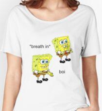 Spongebob Boi Women's Relaxed Fit T-Shirt