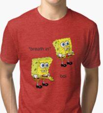 Spongebob Boi Tri-blend T-Shirt