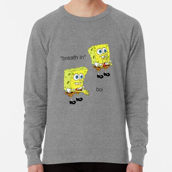Spongebob Boi Lightweight Sweatshirt
