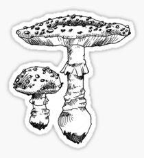 fly agaric Sticker
