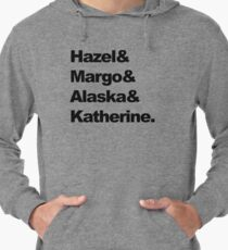 Girls of John Green  Lightweight Hoodie