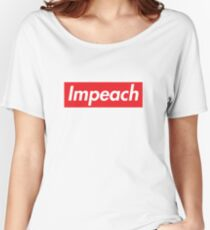 Impeach Supreme Relaxed Fit T-Shirt