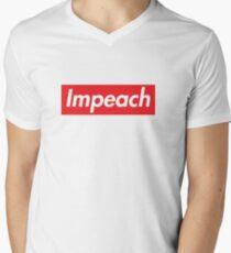 Impeach Supreme V-Neck T-Shirt