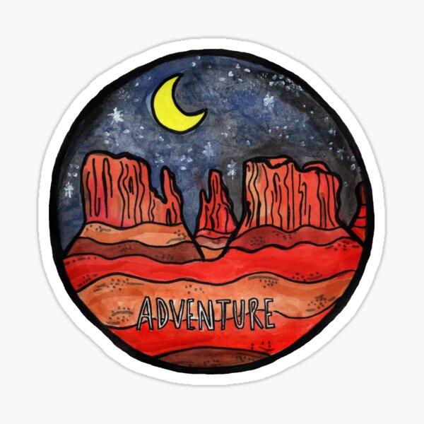 Desert Adventure  Sticker