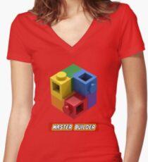 Master Builder Tee for Expert Builders Women's Fitted V-Neck T-Shirt