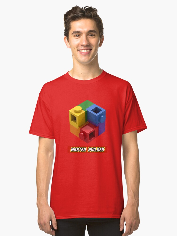 Master Builder Tee for Expert Builders Classic T-Shirt Front