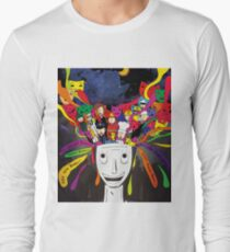 future mind of indonesia teenager Long Sleeve T-Shirt