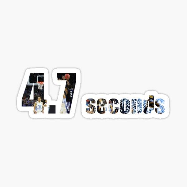 4.7 Seconds Sticker