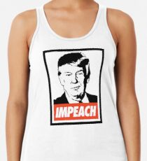 Impeach Trump  Racerback Tank Top