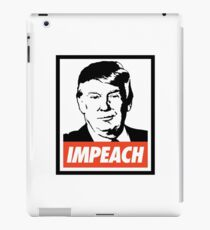 Impeach Trump  iPad Case/Skin