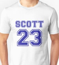 scott 23 one tree hill ravens jersey Unisex T-Shirt