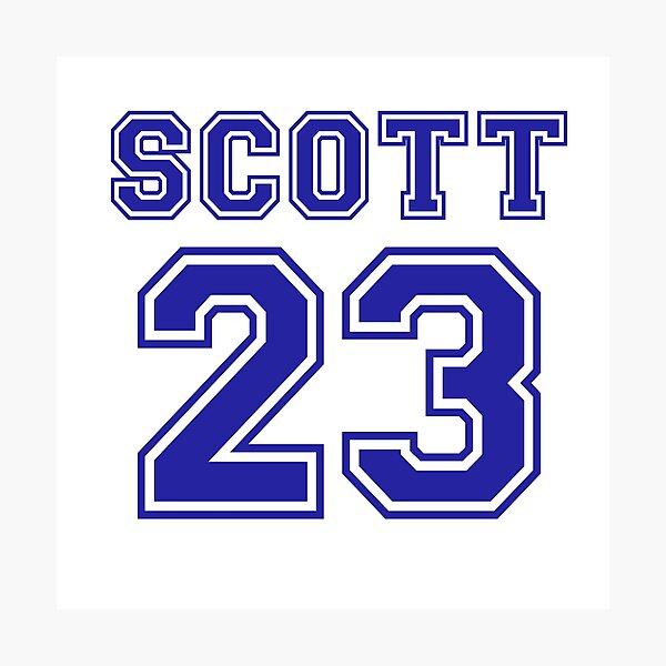 scott 23 one tree hill ravens jersey Photographic Print by lunalovebad
