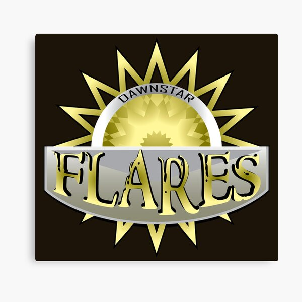 Dawnstar Flares Canvas Print