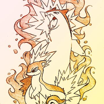 Typhlosion Quilava Cyndaquil by psyconorikan
