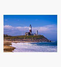 Evening at Montauk Lighthouse Photographic Print