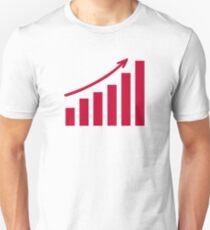 Chart growth profit Unisex T-Shirt